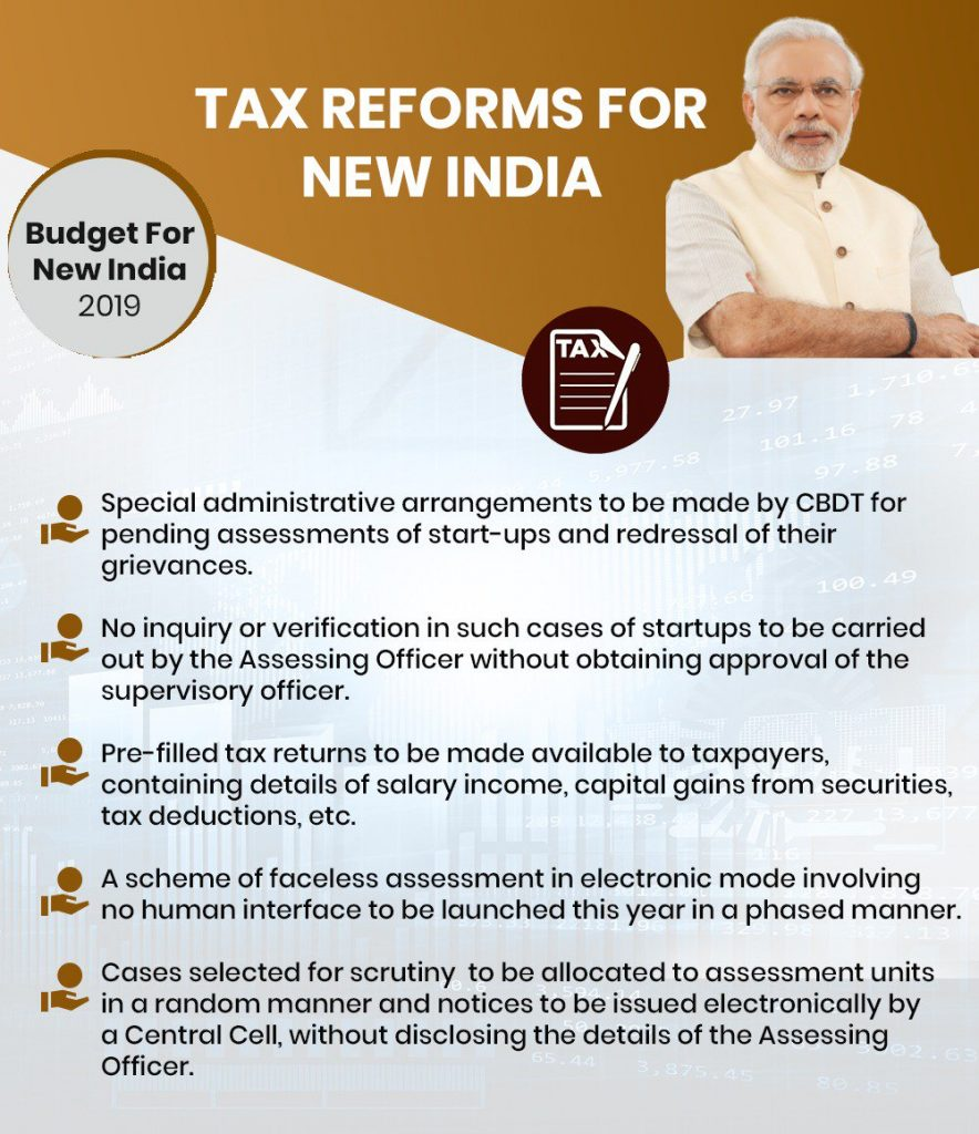 tax reforms for new India